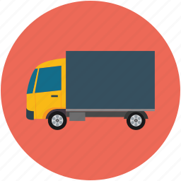 delivery, lorry, transport, truck, wagon icon