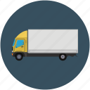 delivery, logistic, shipping, transport, truck icon