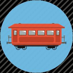 caravan, convoy, retro, train, transport, vintage icon