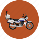 police motorbike, police motorcycle, security motorbike, security motorcycle, transport, vehicle icon