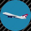 aeroplane, airbus, jet, plane, ramjet icon