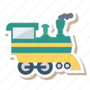 auto, engine, train, transport, transportation, travel, vehicle icon