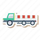 auto, trailer, transport, transportation, travel, truck, vehicle icon