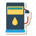 auto, gas, oil, pump, transport, transportation icon