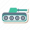 army, auto, tank, transport, transportation, travel, vehicle icon