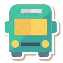 auto, bus, long, transport, transportation, travel, vehicle icon