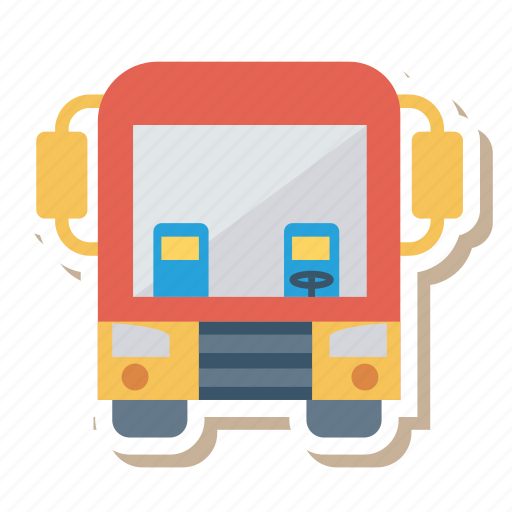 Auto, bus, school, transport, transportation, travel, vehicle icon - Download on Iconfinder