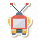 auto, bus, electric, transport, transportation, travel, vehicle icon