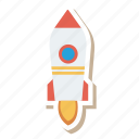 auto, launch, rocket, transport, transportation, travel, vehicle icon
