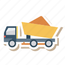 auto, loding, transport, transportation, travel, van, vehicle icon