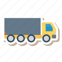 auto, long, trailer, transport, transportation, travel, vehicle icon