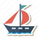 auto, passenger, ship, transport, transportation, travel, vehicle icon