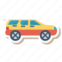 auto, jeep, prado, transport, transportation, travel, vehicle icon