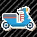 auto, scooter, transport, transportation, travel, vehicle, vespa