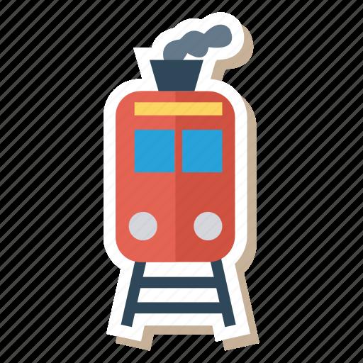auto, engine, train, transport, transportation, travel, vehicle icon