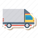 auto, delivery, transport, transportation, travel, van, vehicle icon