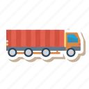 auto, caintor, heavy, trafic, transport, truck, vehicle icon