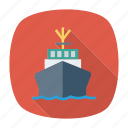 boat, cruise, sea, ship, transport, transportation, travel icon