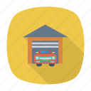 auto, car, garaj, transport, transportation, travel, vehicle icon