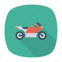 auto, bike, heavy, transport, transportation, travel, vehicle icon