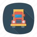 auto, heavy, trailer, transport, transportation, travel, vehicle icon