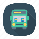 auto, bus, passenger, transport, transportation, travel, vehicle icon