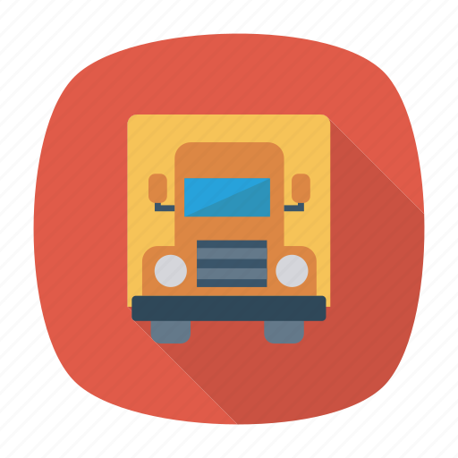 auto, container, trailer, transport, transportation, travel, vehicle icon