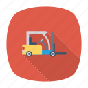 auto, lifter, transport, transportation, travel, vehicle, weight icon