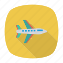 aero, auto, boing, plane, transport, travel, vehicle icon