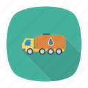 auto, gas, oil, tanker, transport, travel, vehicle icon