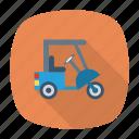 auto, pasenger, rickshaw, small, transport, travel, vehicle icon