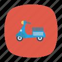 auto, bike, delivery, transport, transportation, travel, vehicle icon