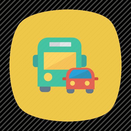 auto, bus, car, transport, transportation, travel, vehicle icon