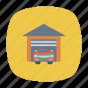 auto, car, garaj, transport, transportation, travel, vehicle icon