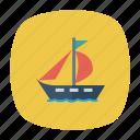 auto, passenger, ship, transport, transportation, travel, vehicle icon