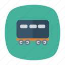 auto, bogie, train, transport, transportation, travel, vehicle icon
