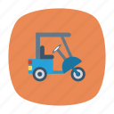 auto, pasenger, rickshaw, small, transport, travel, vehicle icon