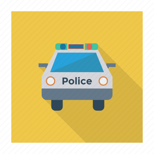 auto, car, police, transport, transportation, travel, vehicle icon
