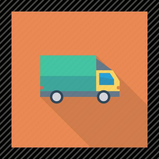 auto, dilivery, transport, transportation, travel, van, vehicle icon