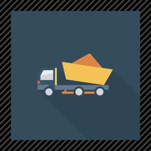 auto, loding, transport, transportation, travel, van, vehicle icon