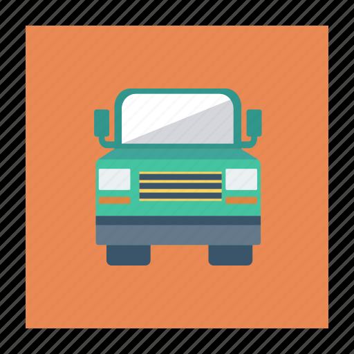 auto, heavy, jeep, transport, travel, van, vehicle icon