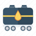 auto, oil, tanker, transport, transportation, travel, vehicle icon