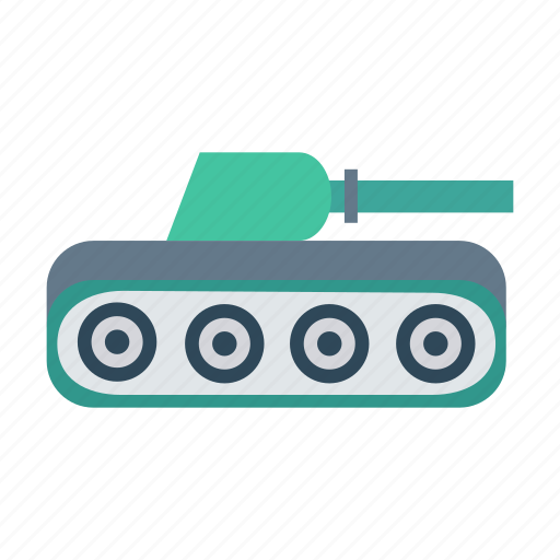 army, auto, tank, transport, transportation, travel, vehicle icon
