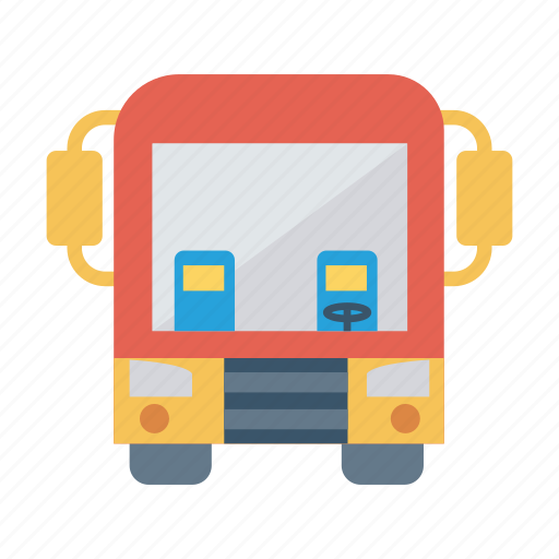 auto, bus, school, transport, transportation, travel, vehicle icon