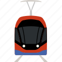 electric, flat, railway, train, tram, transport, transportation