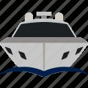 boat, flat, marine, motor, transport, transportation, yacht
