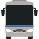 bus, flat, passenger, stop, tour, travel, trip