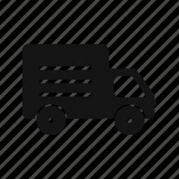 transport, travel, truck, vehicle icon