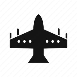 airplane, fighter, jet icon