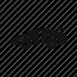 car, racing car, sports car icon